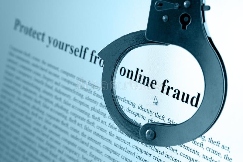 Online Fraude royalty-vrije stock afbeelding