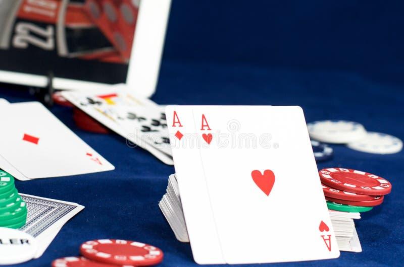 Online gambling stock photos