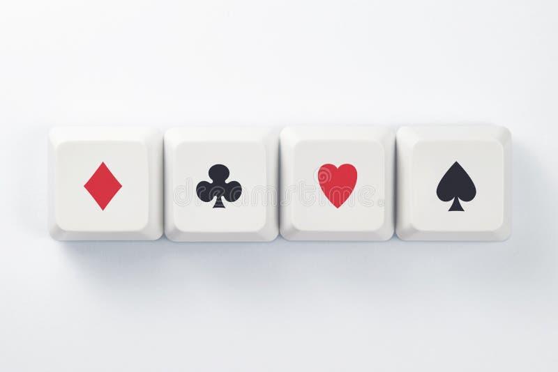 Online Gambling Stock Images