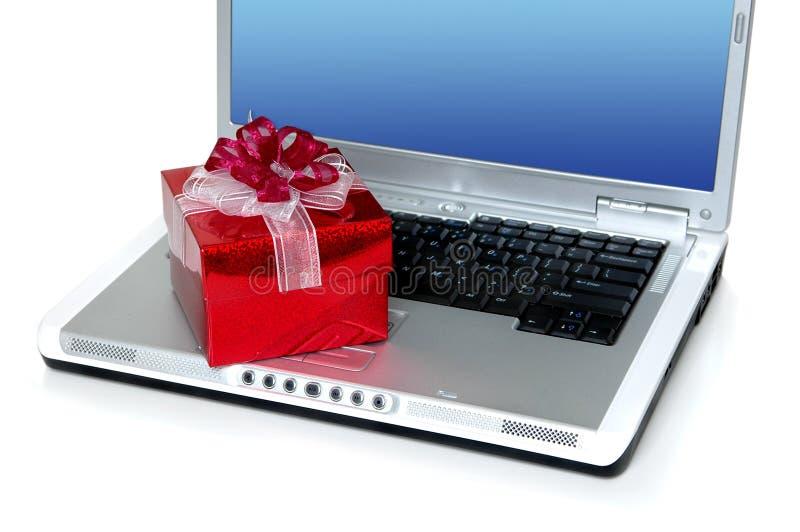 Online gift royalty-vrije stock foto's