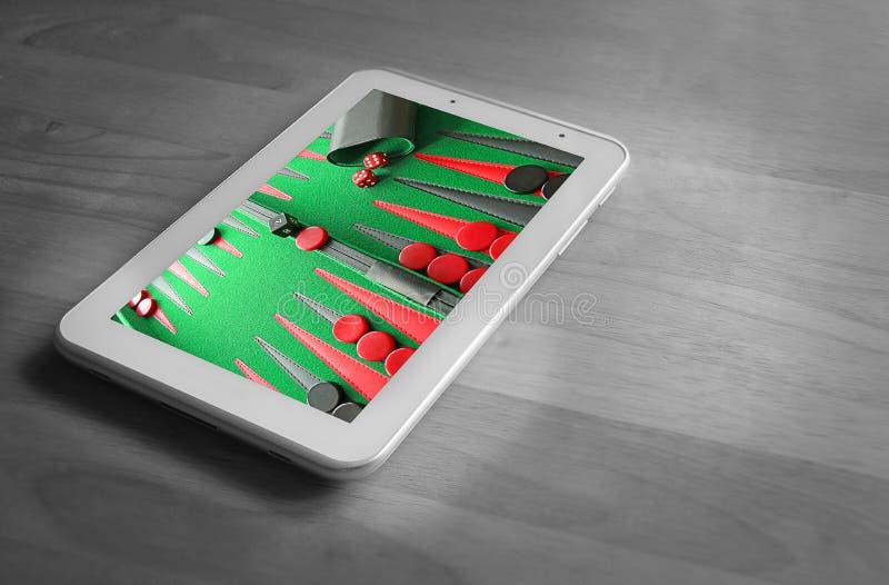Online gokken royalty-vrije stock afbeelding