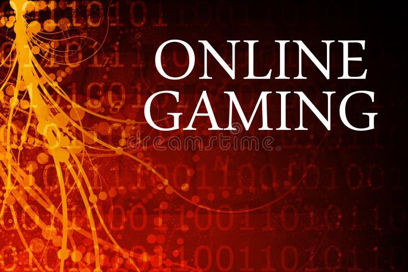Online Gokken stock illustratie