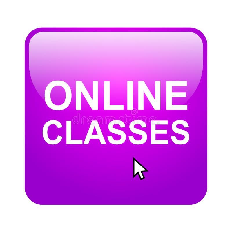 Online-grupper stock illustrationer