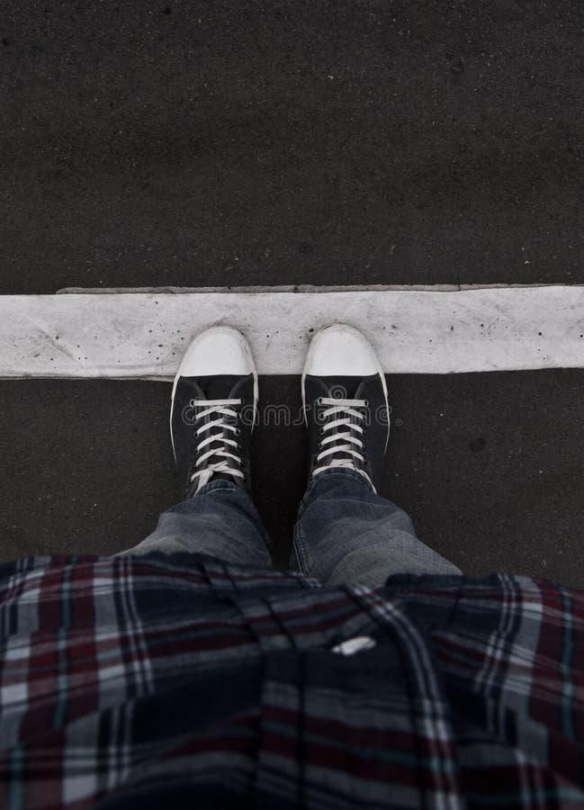 Online Gumshoes stock fotografie