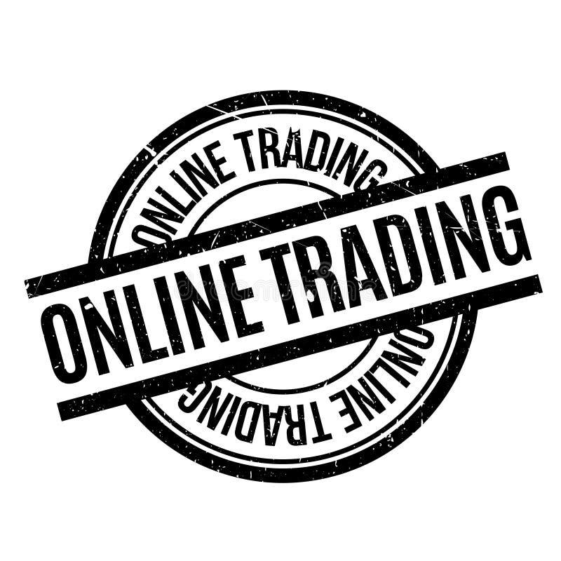 Online Handlarska pieczątka ilustracja wektor