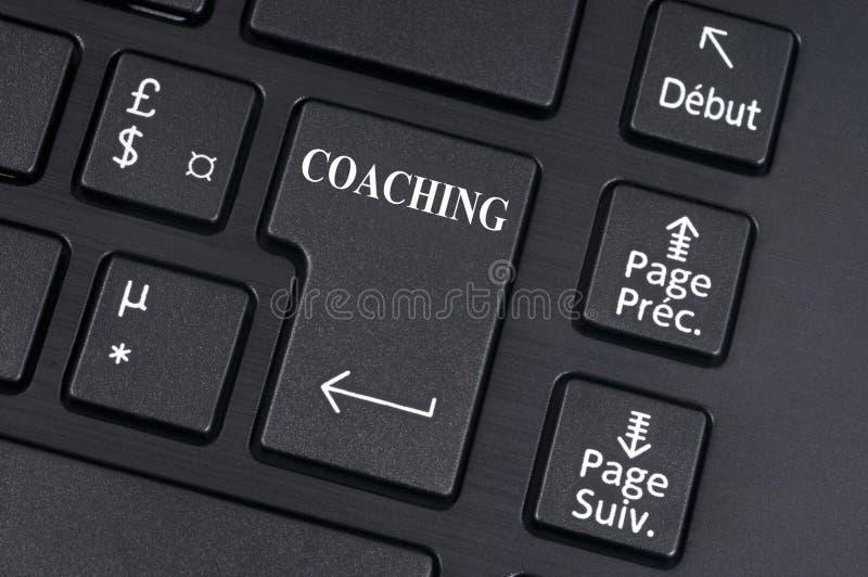 Online het Trainen Concept stock illustratie