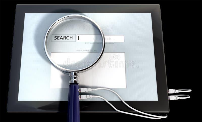 online-hjälpmedel arkivbilder