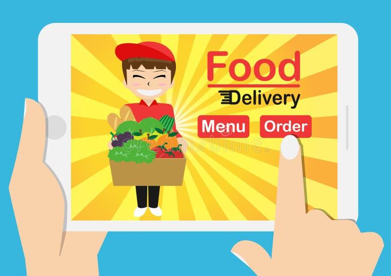 Online jedzenie zdjęcie royalty free