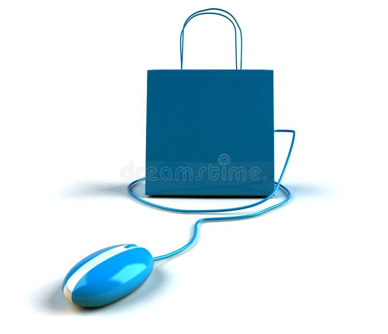 Online kaufen lizenzfreie abbildung
