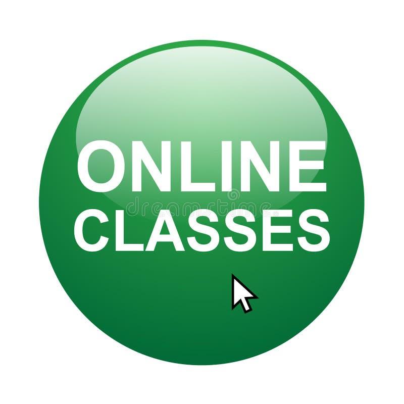 Online Klassen vector illustratie