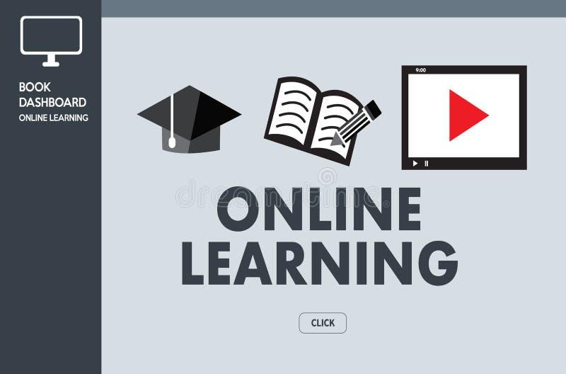 ONLINE-LÄRANDE expertis för uppkopplingsmöjlighetteknologicoachning undervisar Di royaltyfri foto