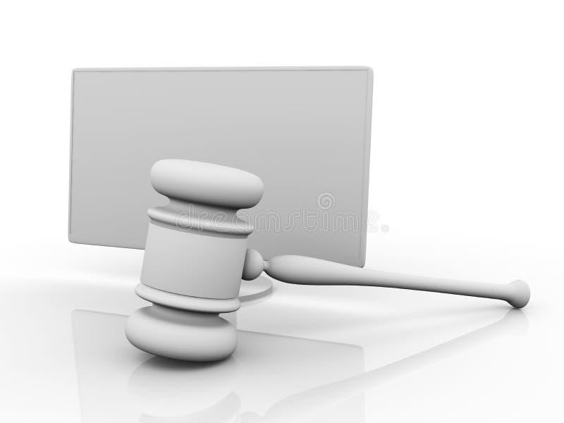 Download Online Law stock illustration. Illustration of judge, illustration - 9275004