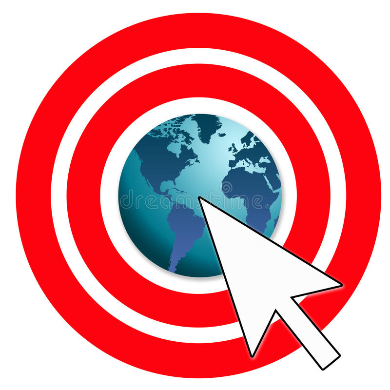 Download Online marketing stock illustration. Illustration of customer - 18429277
