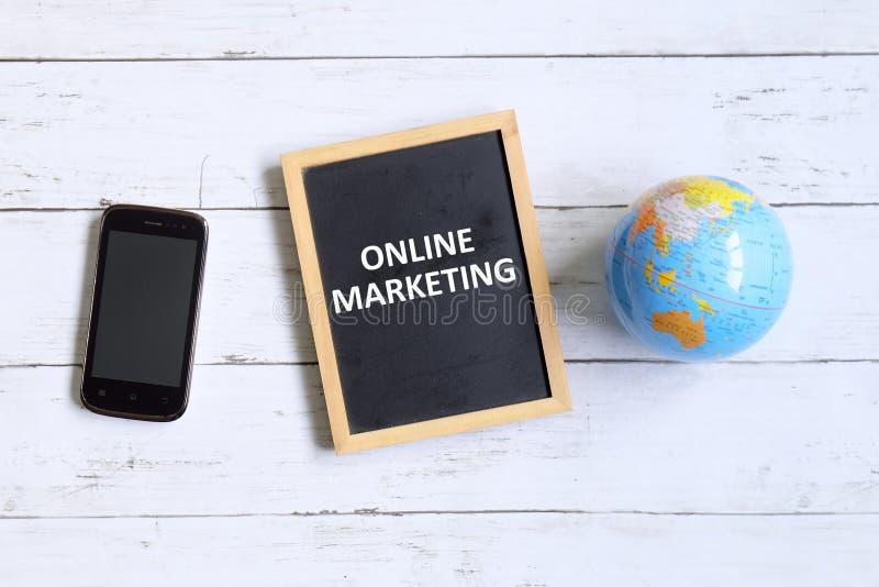 Online marketing stock photo