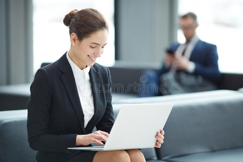 Online mededeling royalty-vrije stock foto's