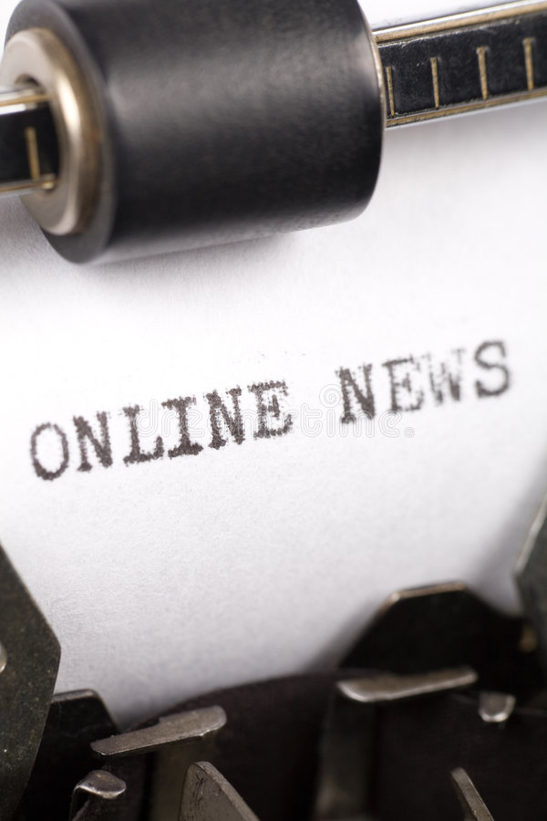 Download Online News stock image. Image of online, text, writing - 3466999