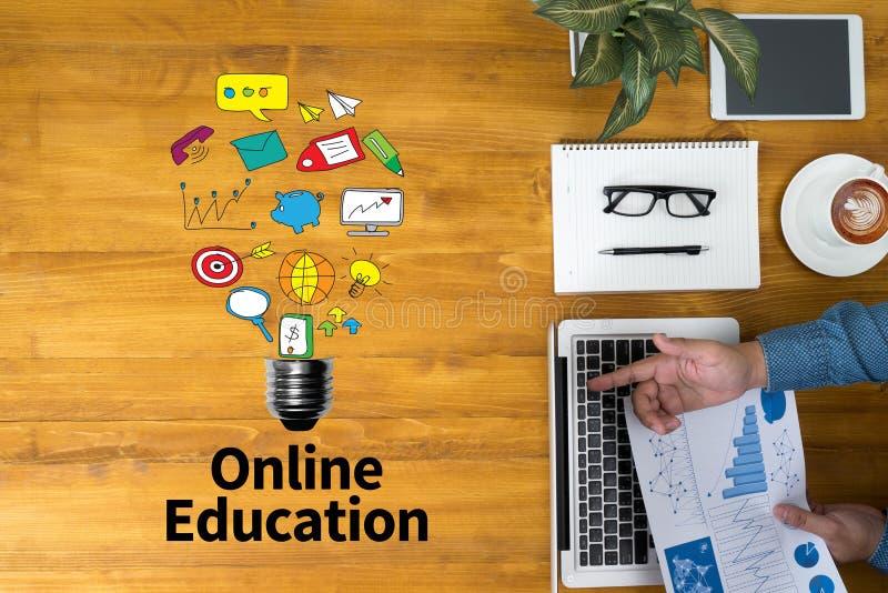 Online Onderwijs stock afbeelding