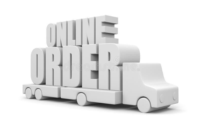 Download Online order stock illustration. Illustration of delivery - 21182598
