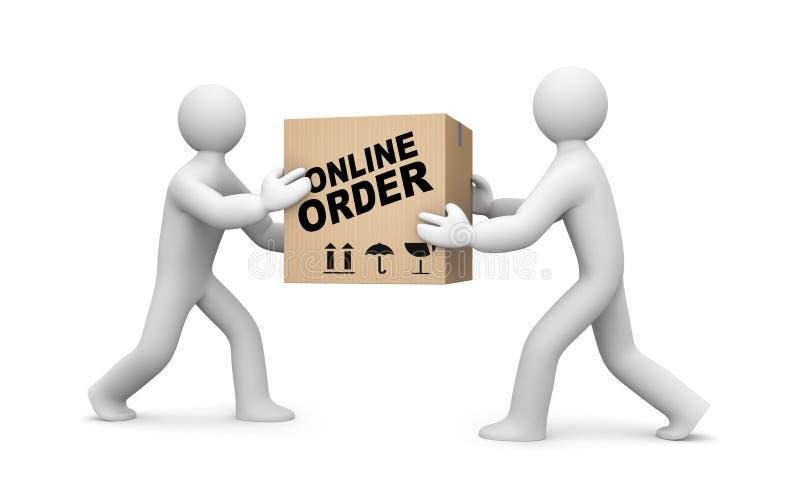 Online order royalty free illustration