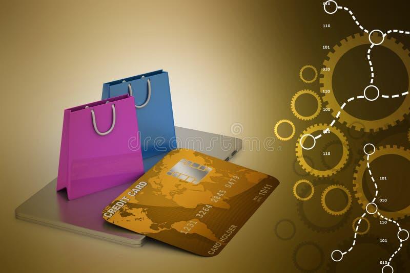 Online payment concept vector illustration