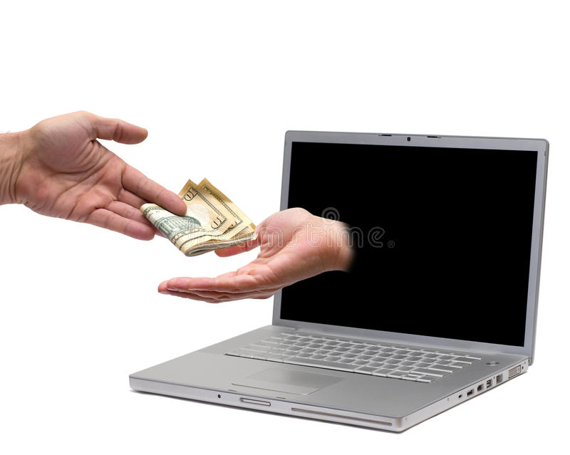 Online payment stock images