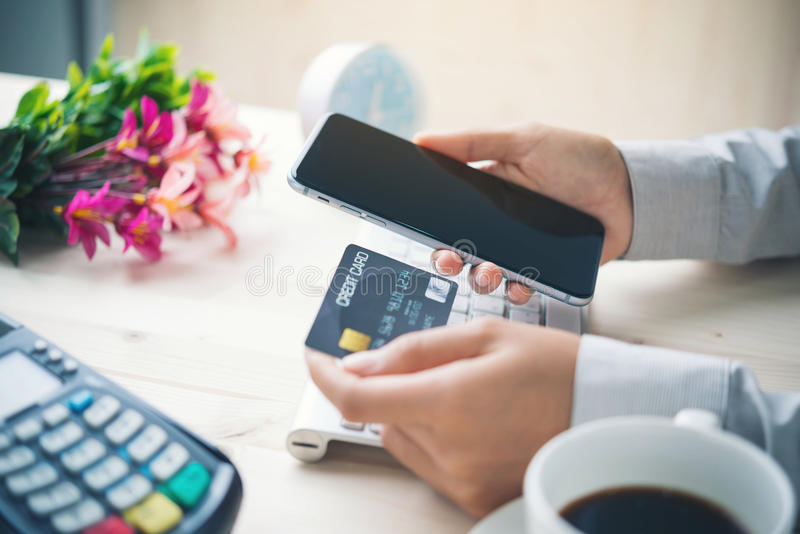 Online payment royalty free stock images