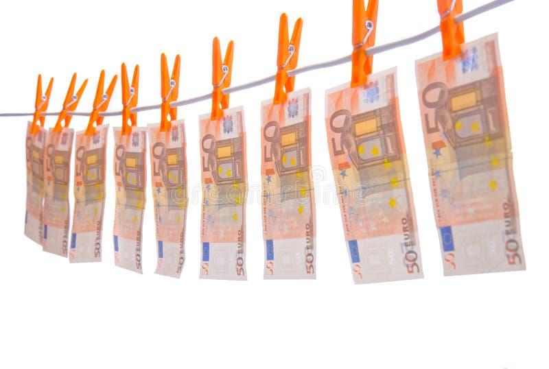 Online pieniądze obwieszenie fotografia stock