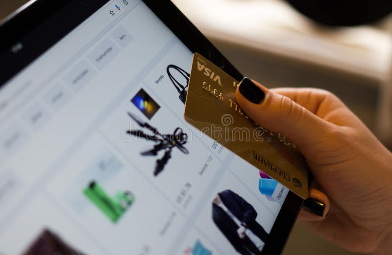 Online purchase stock photos