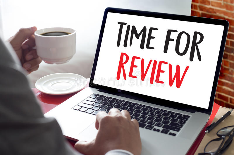Online Reviews Evaluation time for review Inspection Assessment. Auditing stock photography