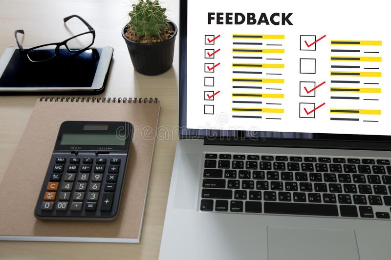 Online Reviews Evaluation time for review Inspection Assessment. Auditing stock photos