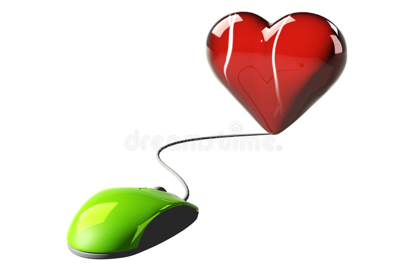 Download Online romance concept stock illustration. Illustration of manage - 23876543