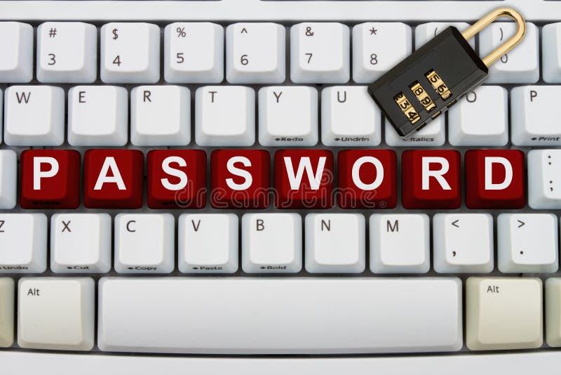 Online-säkerhet royaltyfri bild