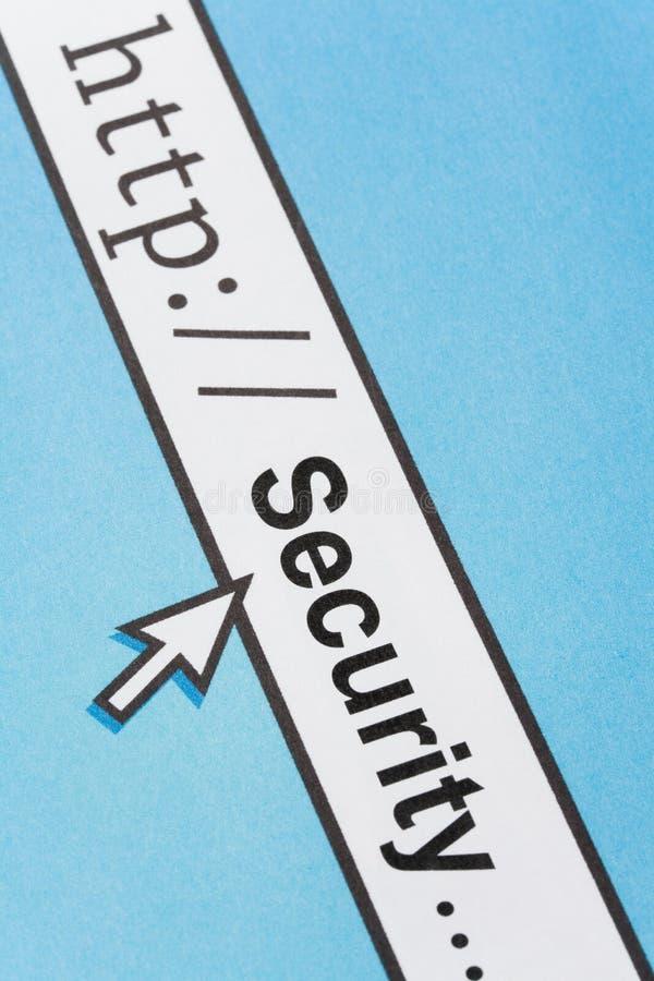 Online-säkerhetsbegrepp arkivbilder
