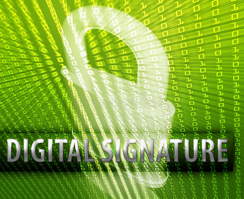 Download Online security stock illustration. Image of symbol, certificate - 9959116