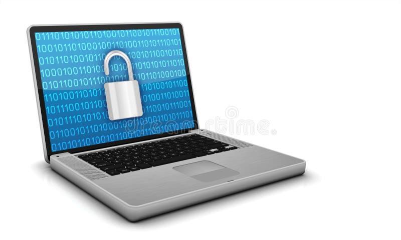 Online Securtity royalty-vrije illustratie