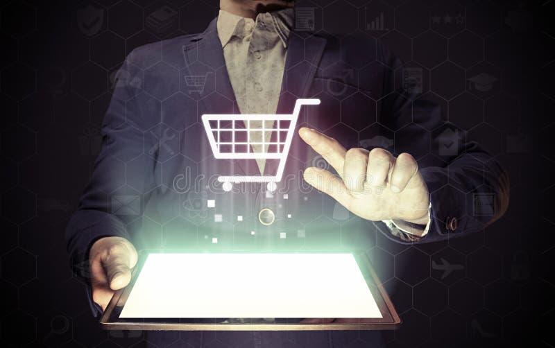 Online shop concept stock images