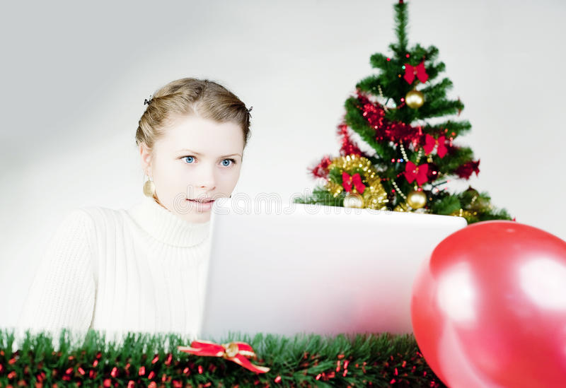Download Online Shoping stock photo. Image of lady, customer, card - 12103976
