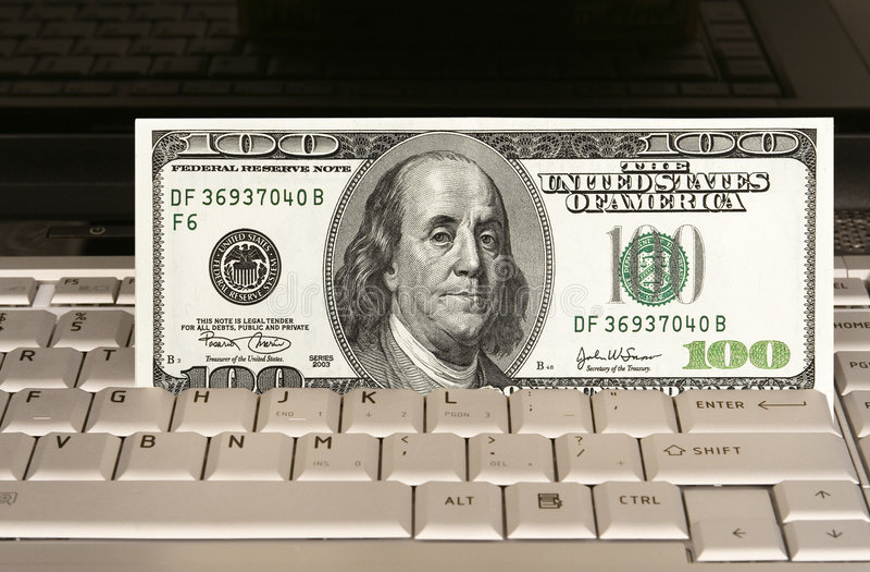 Online shoping lizenzfreies stockbild