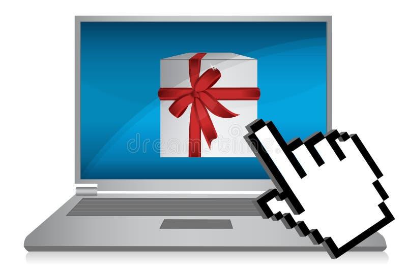 online-shopping vektor illustrationer