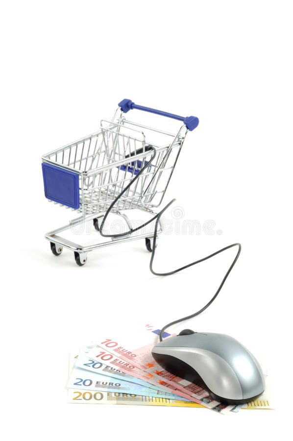 Free Online Shopping Royalty Free Stock Photography - 20473367