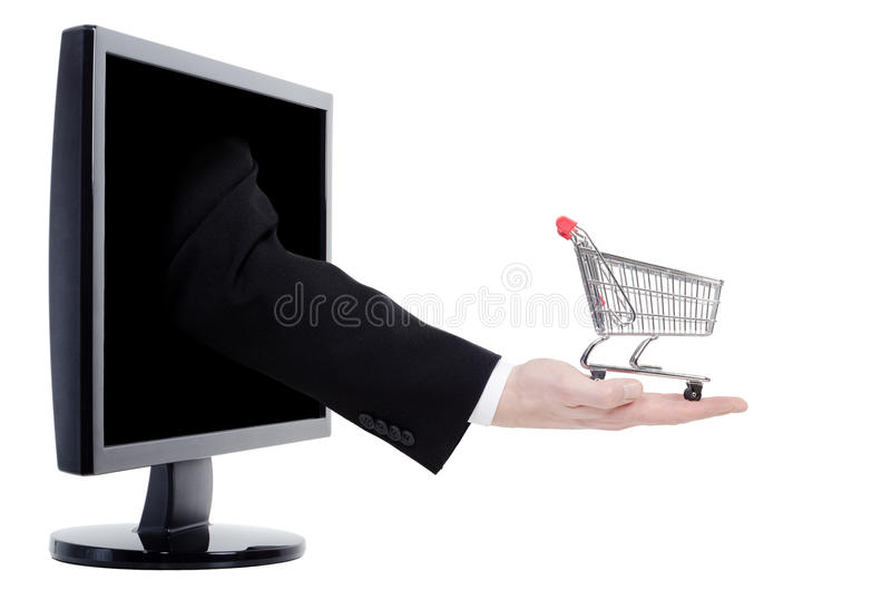 Download Online Shopping Royalty Free Stock Photography - Image: 24188127