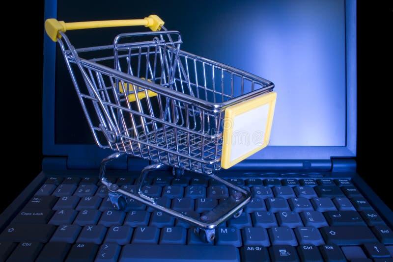 online-shopping arkivfoto