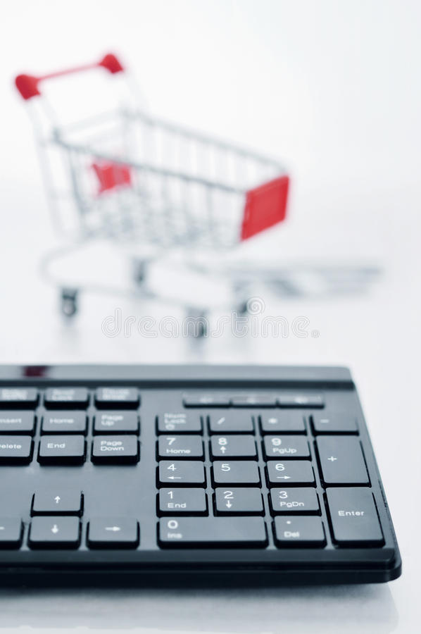 Download Online Shopping Concept stock photo. Image of mobile - 38876862