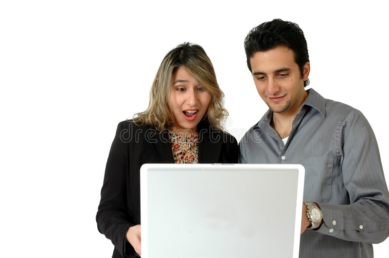 Online Shopping Expressions stock photography