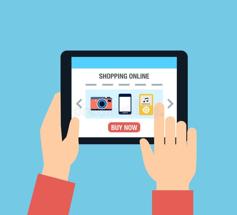 Online Shopping royalty free illustration