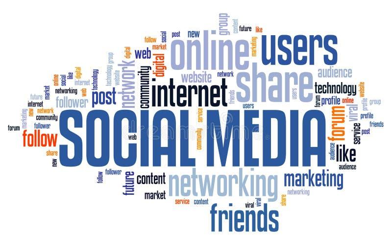 Online social media vector illustration