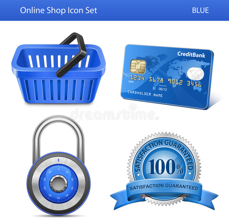 Download Online Store Icon Set Stock Images - Image: 25008874