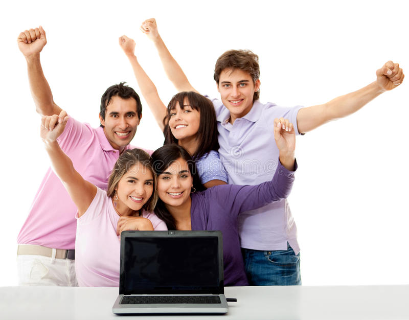 Download Online success stock image. Image of arms, internet, academic - 21849207
