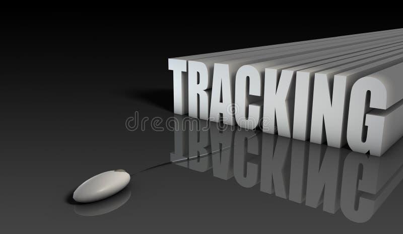 Download Online Tracking stock illustration. Image of program - 14100540
