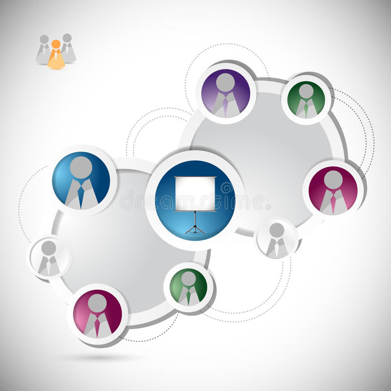 Download Online Training Student Network Concept Stock Illustration - Image: 32894856